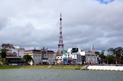 Dalat, Vietnam, city views Stock Image