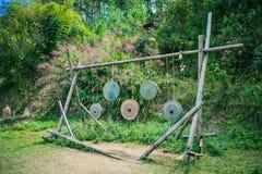 DALAT, VIETNAM - 17 février 2017 : Village de LAN de Cu à la campagne, à l'hôtel et à la station de vacances de Dalat parmi la ju Photos stock