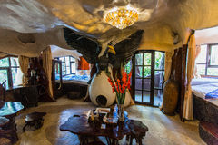 DALAT, VIETNAM, im Februar 2016 - Hang Nga-Gästehaus verrücktes Haus Lizenzfreie Stockbilder