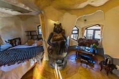 DALAT, VIETNAM, im Februar 2016 - Hang Nga-Gästehaus verrücktes Haus Lizenzfreie Stockfotos