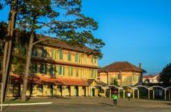 Old school in Dalat, Vietnam stock photos