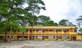 Old buildings in Dalat, Vietnam royalty free stock photo