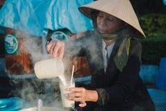 Dalat życie w ranku, Wietnam Obrazy Royalty Free
