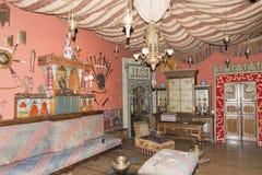 DAlbertis城堡,赫诺瓦,意大利 免版税库存照片