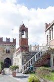 DAlbertis-Schloss, Genua, Italien Stockbilder