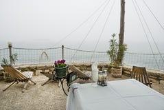 Dalboka - Muschel-Bauernhof und Restaurant, Bulgarien Stockfoto