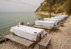 Dalboka - Tweekleppig schelpdierlandbouwbedrijf en Restaurant, Bulgarije Royalty-vrije Stock Afbeelding