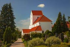 Dalby-Kloster Stockfoto