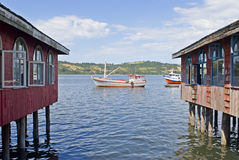 Dalcahue Chiloe Chile Royalty Free Stock Photos