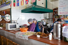 Dalcahue cookery, Chiloe Island, Chile Stock Photography