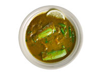 Dalcha Indian stew Royalty Free Stock Photos