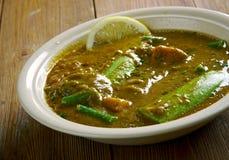 Dalcha Indian stew Stock Photos