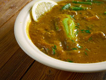Dalcha Indian stew Stock Photo
