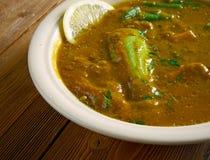 Dalcha Indian stew Stock Photo