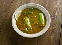 Dalcha Indian stew Stock Photography