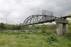 Daldowie Pipe Bridge Royalty Free Stock Photo