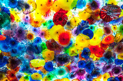 Dale Chihuly Bellagio Chandelier Royalty Free Stock Photography