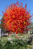 Dale Chihuly Exhibit royalty-vrije stock foto
