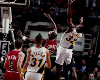 Dale Davis, Indian Pacers Royalty Free Stock Photos