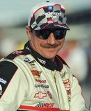NASCAR Legend Dale Earnhardt royalty free stock image