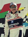 NASCAR Legend Dale Earnhardt royalty free stock photos