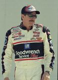 NASCAR Legend Dale Earnhardt royalty free stock photography