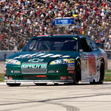 Dale Earnhardt Jr. Drives the #88 Amp Energy Chevrolet during the Samsung 500, held at the Texas Motor Speedway in Fort Worth, Texas, on April 5, 2009 Stock Photography