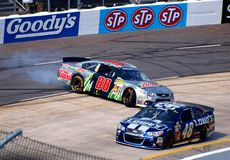 Dale Earnhardt Jr Spin Stock Photography