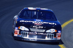 Dale Earnhardt NASCAR Driver. Dale Earnhardt senior racing a NASCAR race for the National Championship.n Stock Images