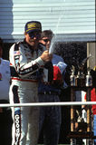 Dale Earnhardt. NASCAR legend Dale Earnhardt, Sr. (image taken from color slide Royalty Free Stock Photos