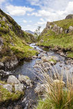 Dale Head Beck. /Stream located at the base of the Dale Head Mountain range stock photo