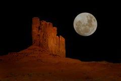 dale pomnikowa arizona noc Zdjęcie Stock