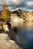 dale rocky lake Zdjęcie Royalty Free