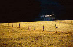 dale rolnej do domu Fotografia Stock