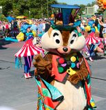 Dale in a street parade at Disneyworld Stock Photos
