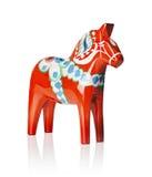 dalecarlian άλογο Στοκ φωτογραφία με δικαίωμα ελεύθερης χρήσης