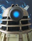 Dalek from Dr Who TV Series Royalty Free Stock Image