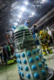 Dalek model at the Yorkshire Cosplay Convention Stock Photos