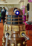 Dalek på science fictionen Scarborough Arkivbilder