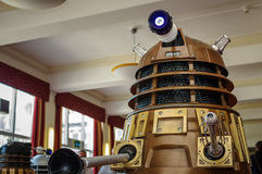 Dalek på science fictionen Scarborough Royaltyfria Bilder