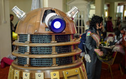 Dalek på science fictionen Scarborough Royaltyfri Bild