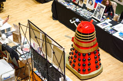 Dalek at Sci-Fi Scarborough Royalty Free Stock Images