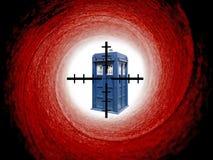 Dalek tardis target Stock Photos