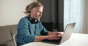Daleka praca na laptopie zbiory