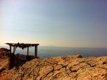 Daleka wyspa Zdjęcia Royalty Free