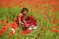 Daleki copywriting Opiumowy maczek, obrotny biznes, ekologia zdjęcie royalty free