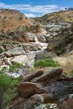 Daleki Mannum spada w Południowym Australia na 15th 2009 Październiku Obrazy Royalty Free