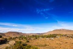 Daleki miasteczko Nieu Bethesda w Karoo Obrazy Stock