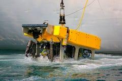 Daleko działający podwodny pojazd ROV obraz royalty free