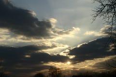 Daleko poza chmury obrazy royalty free